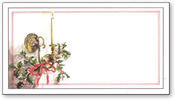 Product Image For Christmas Sconce Reply Card